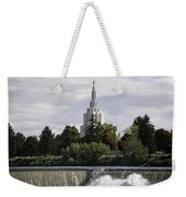 Idaho Falls Temple Weekender Tote Bag