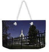 Idaho Falls Temple Series 3 Weekender Tote Bag