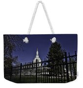 Idaho Falls Temple Series 4 Weekender Tote Bag