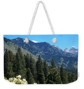 Idaho Mountain Side Weekender Tote Bag