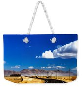Idaho Road Titl Shift Weekender Tote Bag