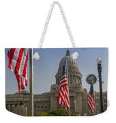 Idaho State Capitol In Boise Weekender Tote Bag