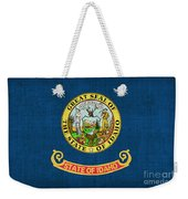 Idaho State Flag Weekender Tote Bag by Pixel Chimp