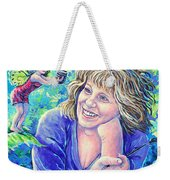 Idealistic Inspiration Weekender Tote Bag