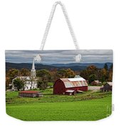 Idyllic Vermont Small Town Weekender Tote Bag