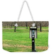 If A Phone Rings In The Forest Weekender Tote Bag