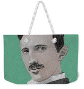 If You Could Read My Mind...tesla Weekender Tote Bag
