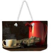 Iguana Coffee Weekender Tote Bag