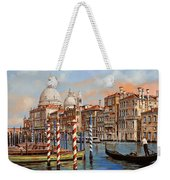 Il Canal Grande Weekender Tote Bag by Guido Borelli