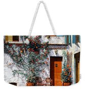 Il Cortile Bianco Weekender Tote Bag by Guido Borelli