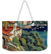 Il Promontorio Weekender Tote Bag by Guido Borelli