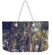 I'll Float Up Into The Wavy Trees Weekender Tote Bag