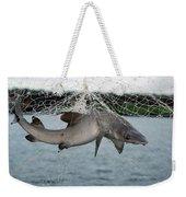 Illegal Gillnet Fishing Academy Bay Weekender Tote Bag