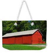 Illinois Red Barn Weekender Tote Bag