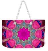 Illuminated Rose Weekender Tote Bag