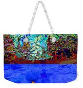 Illusion Of Lake And Forest Weekender Tote Bag