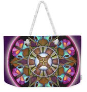 Illusion Of Self Mandala Weekender Tote Bag