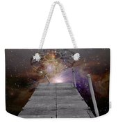 Illusion Of Time Weekender Tote Bag