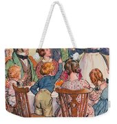 Illustration For A Christmas Carol Weekender Tote Bag