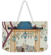 Illustration For 'fetes Galantes' Weekender Tote Bag