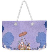 Illustration From A Book Of Fairy Tales Weekender Tote Bag