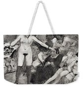 Illustration From La Maison Tellier By Guy De Maupassant  Weekender Tote Bag