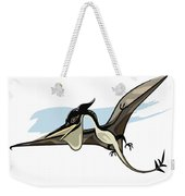 Illustration Of A Pteranodon Dinosaur Weekender Tote Bag
