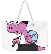 Illustration Of A Spinosaurus Bruce Lee Weekender Tote Bag