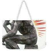 Illustration Of Back Pain Weekender Tote Bag