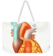 Illustration Of The Human Heart Weekender Tote Bag