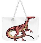 Illustration Of Velociraptor Weekender Tote Bag