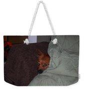 I'm Cold Weekender Tote Bag