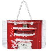 I'm Dreaming Of A White Christmas Weekender Tote Bag