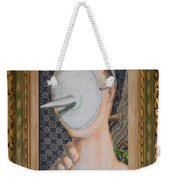 I'm Not A Therapist So I Can Talk About What I Can Talk About - Framed Weekender Tote Bag