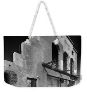 Im Still Standing Jerome Black And White Weekender Tote Bag