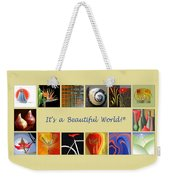 Image Mosaic - Promotional Collage Weekender Tote Bag by Ben and Raisa Gertsberg