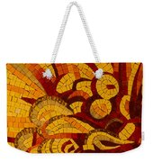 Imagination In Hot Vivid Yellows Weekender Tote Bag