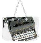 Imagination Typewriter Weekender Tote Bag