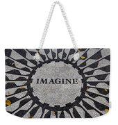 Imagine A World Of Peace Weekender Tote Bag