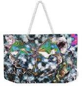 Imagine Number 2 Butterfly Art Weekender Tote Bag
