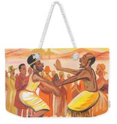 Imbiyino Dance From Rwanda Weekender Tote Bag