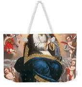 Immaculate Virgin Victorious Over The Serpent Of Heresy Weekender Tote Bag