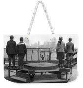 Immigrants At Ellis Island Weekender Tote Bag