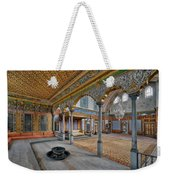 Imperial Hall Of Harem In Topkapi Palace Weekender Tote Bag