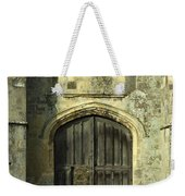 Imposing Front Door Of Titchfield Abbey Weekender Tote Bag