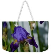 Impossible Imagined Iris Weekender Tote Bag
