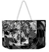 Impossible Reflections B/w Weekender Tote Bag