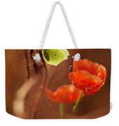 Impression With Red Poppies Weekender Tote Bag