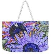 Impressionism Sunflowers Weekender Tote Bag