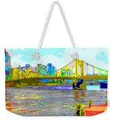 Impressionist Clemente Bridge 2 Weekender Tote Bag